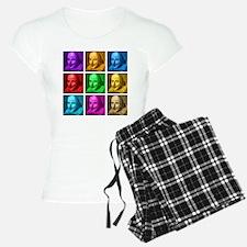 Shakespeare Pop Art Pajamas