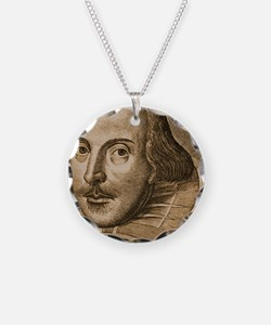 Droeshout's Shakespeare Necklace