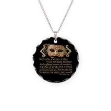 Henry V Quote Necklace