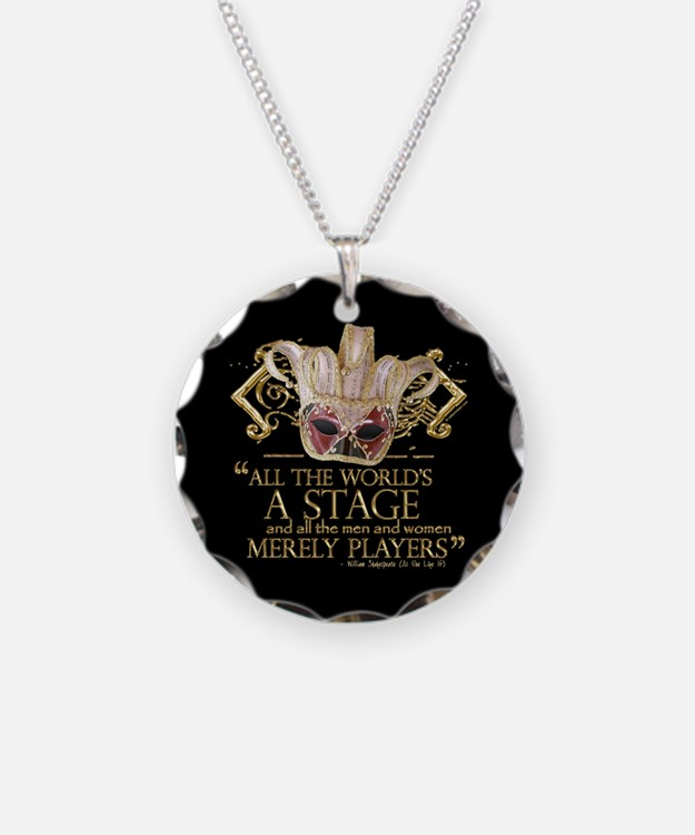 As You Like It Quote Necklace