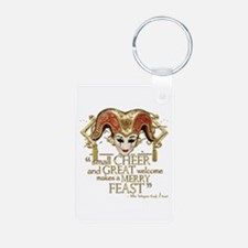 Comedy of Errors Quote Keychains