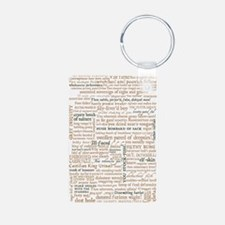 Shakespeare Insults Keychains