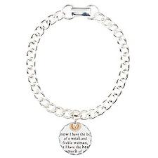 Elizabeth Tilbury Quote Bracelet