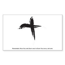 """Ash Wednesday"" Decal"