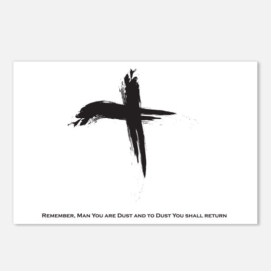 """""""Ash Wednesday"""" Postcards (Package of 8)"""