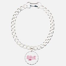 Sweet 16 Car Heart Bracelet