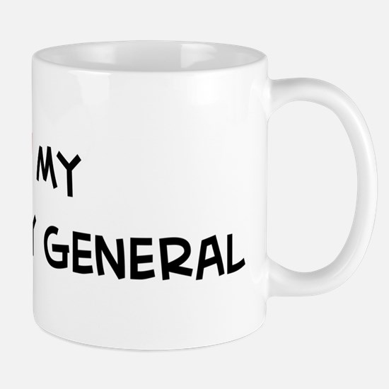I Love Secretary General Mug