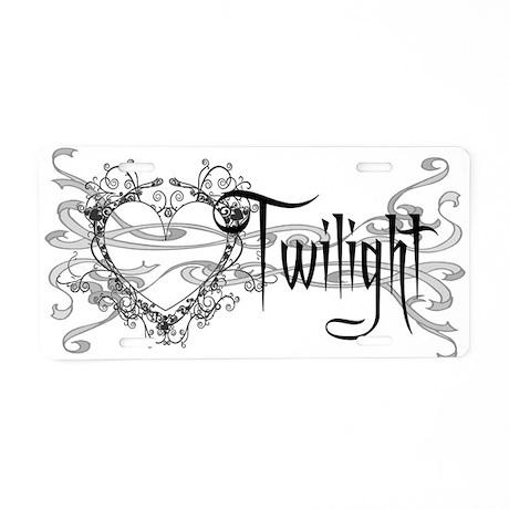 Twilight Movie Aluminum License Plate