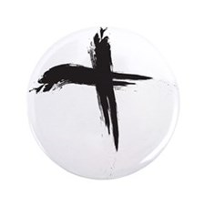 """Funny Ash wednesday 3.5"""" Button"""