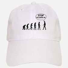 Stop Following Me Baseball Baseball Cap
