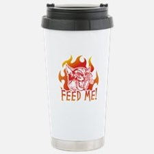 Hungry Cat Travel Mug