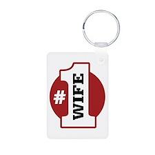 #1 Wife Keychains