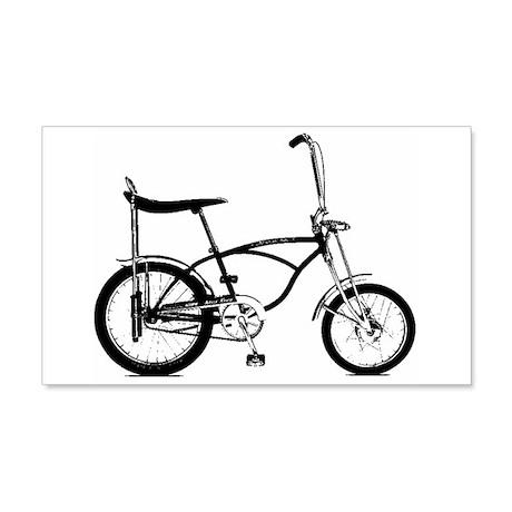 Retro Banana Seat Bike 22x14 Wall Peel