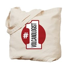 #1 Volcanologist Tote Bag