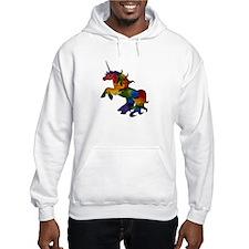 Unique Rainbow pony Hoodie