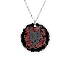 Jacob Wolf Flourish Necklace