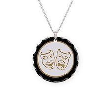 Drama Masks Necklace