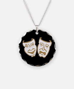 Drama Masks Necklace