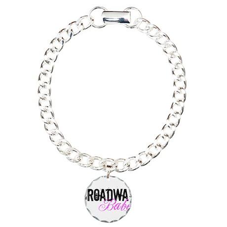 Broadway Babe Charm Bracelet, One Charm