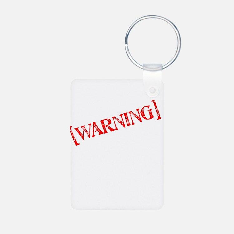 Warning: Comedian Keychains