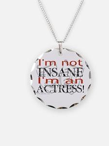 Insane actress Necklace