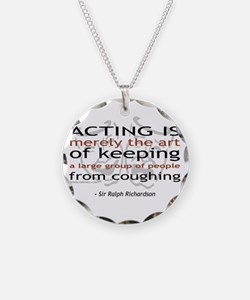 Sir Ralph Richardson Quote Necklace