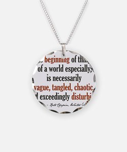 Kate Chopin Creation Quote Necklace