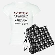 Moliere Writing Quote Pajamas