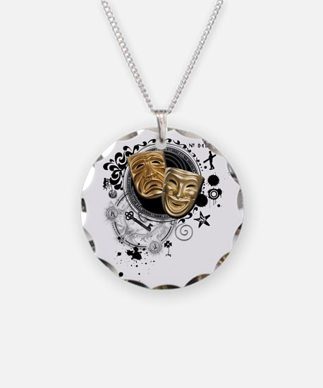 Alchemy of Theatre Production Necklace Circle Char