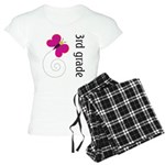 Bright Butterfly Third Grade Women's Light Pajamas