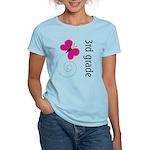 Bright Butterfly Third Grade Women's Light T-Shirt