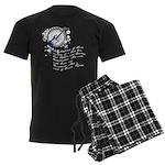 The Alchemy of Music Men's Dark Pajamas