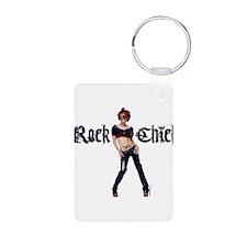 Rock Chick Keychains