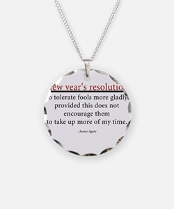 New Year's Resolution Necklace