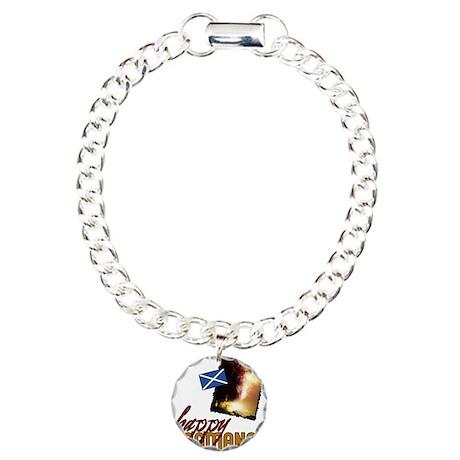 Hogmanay Charm Bracelet, One Charm
