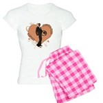 Valentine Wanted (Male) Women's Light Pajamas