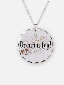 Break a Leg Necklace