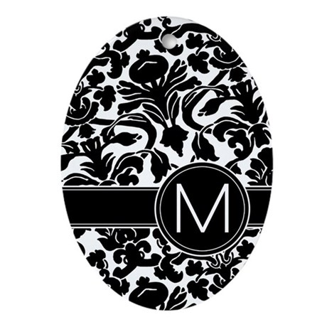 monogram items Ornament (Oval)