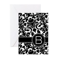 monogram items Greeting Card