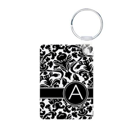 monogram items Aluminum Photo Keychain