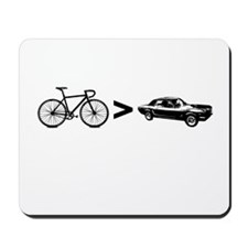 Bikes > Cars Mousepad