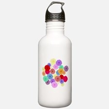 Roses Sports Water Bottle