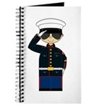 Cute Marine Officer in Shades Journal