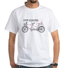 Tandem Bicyle Wedding Shirt