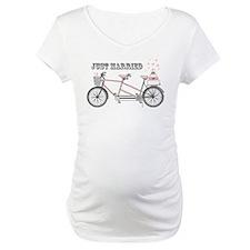 Tandem Bicyle Wedding Shirt