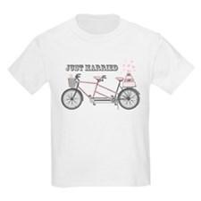Tandem Bicyle Wedding T-Shirt