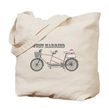 Tandem Bicyle Wedding Tote Bag