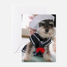 Zsa Zsa the Sailor Greeting Cards (Pk of 10)