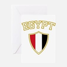 Egypt Crest English Greeting Card