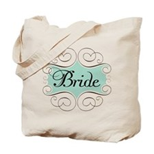 Beautiful Bride Design Tote Bag